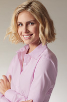 Ladies´ Shirt LSL Micro-Twill