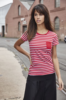 Ladies´ T-shirt Striped