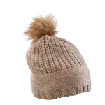 Knitted Hat With Shiny Effect
